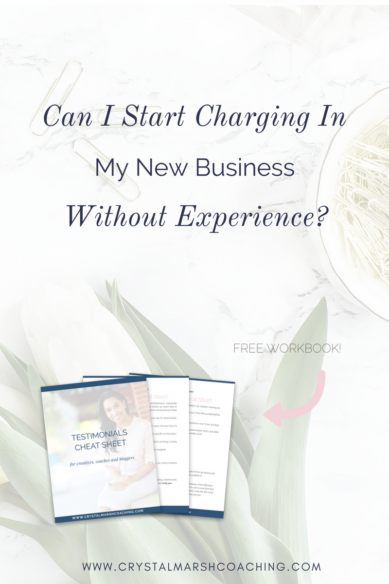 Can I Start Charging In My New Business Without Experience_, testimonials cheatsheet, business coach, career coach.png