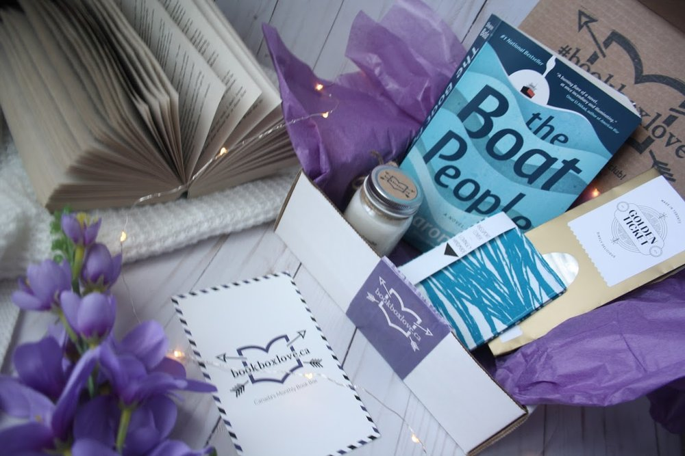 Book Box Love's July box. Photo credit:  @pretty_little_library