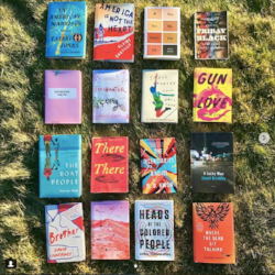 Aspen Words Literary Prize long-list (image via @aspenwords on Instagram)