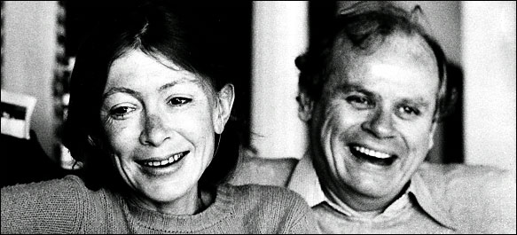 Joan Didion and John Dunne, 1992
