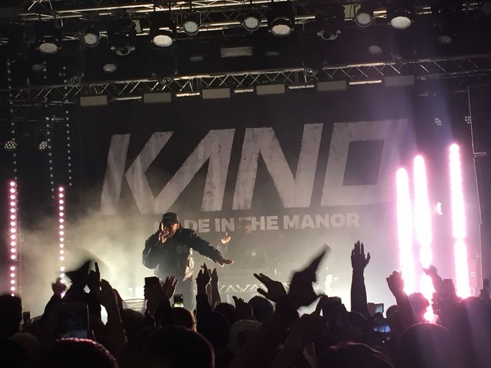 "KANO: ""Made in the Manor"" tour, Manchester 25/03/2016"