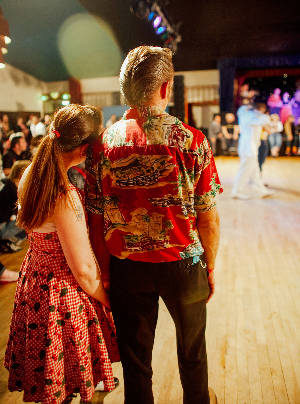 Jive contest couple, Hemsby 2011