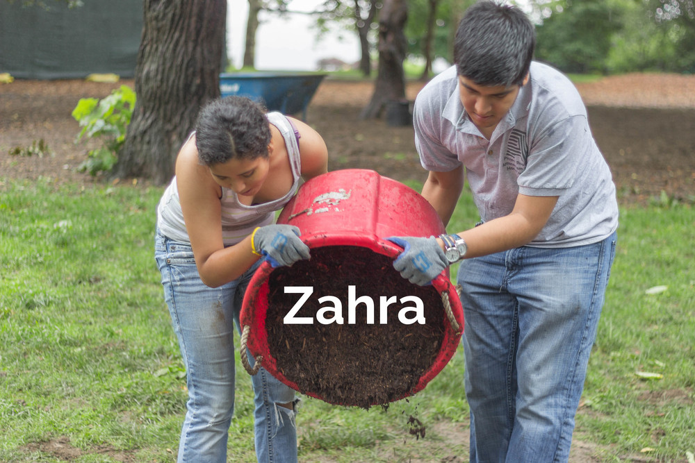 Zahra grew up seeing the worst of gang violence on the South Side of Chicago. She made incredibly good decisions throughout her life and avoided participating. Unfortunately, Zahra learned in her teenage years that avoiding was not enough. She was non-fatally shot as an innocent bystander on one of the most violent streets in America with a horrifically ironic name: Martin Luther King Boulevard.    Homelessness and frequently losing friends to gang violence were other challenges that Zahra regularly faced. Zahra quickly immersed herself in Project Rousseau and has made incredible strides in her life since. She has been blessed, as she says, with the best mentor ever. She is a tireless advocate for addressing the urgent matters of gun violence and gang activity in her community. She takes advantage of every opportunity given to her and, thanks to her incredible determination, is college bound.