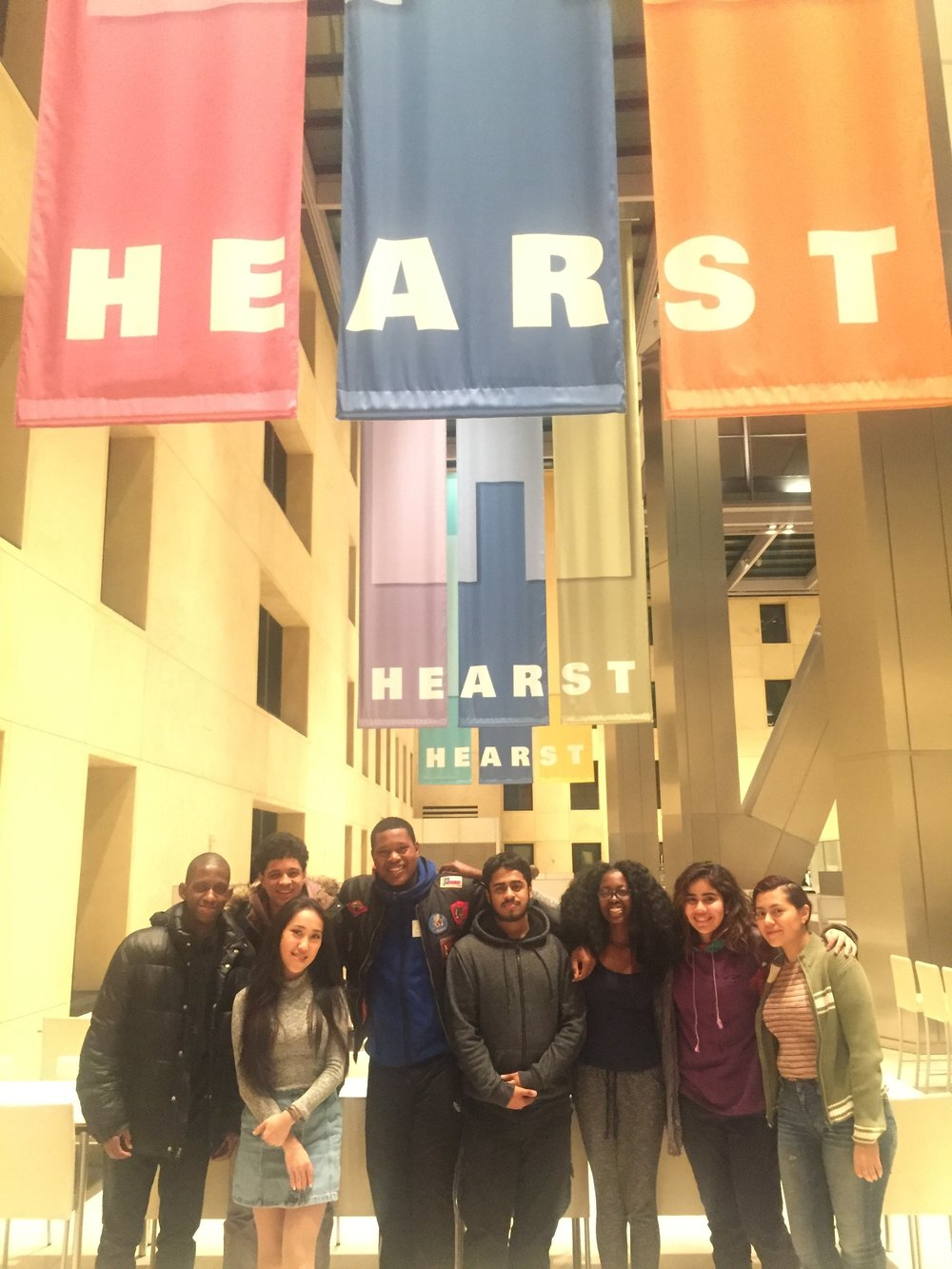 editing our college essays at hearst tower  project rousseau  of the support they give each other and the friendships they have  formed we are certain will last long after their high school graduation  this year