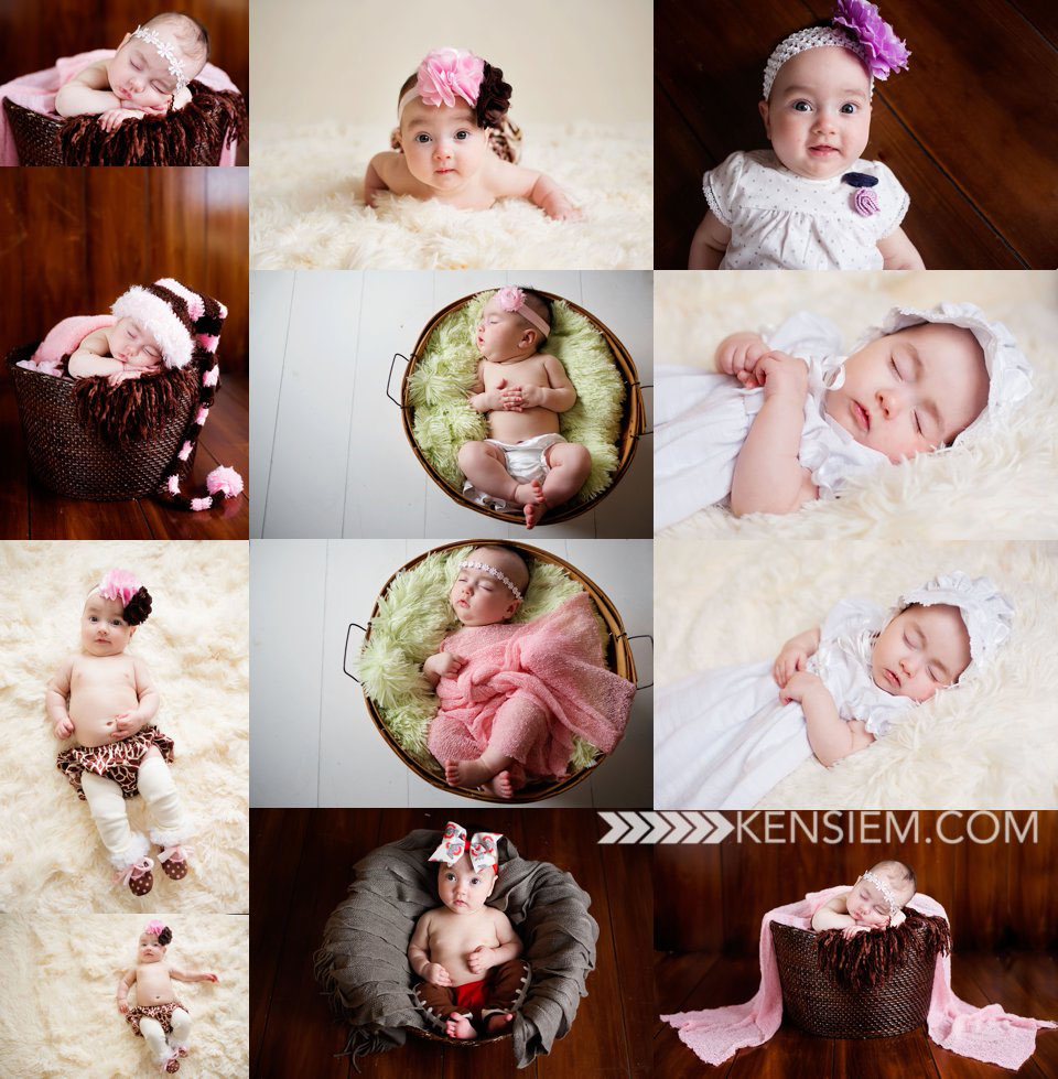3 MONTH PHOTO SHOOT FOR A LITTLE GIRL | WINCHESTER VIRGINIA BABY PHOTOGRAPHY