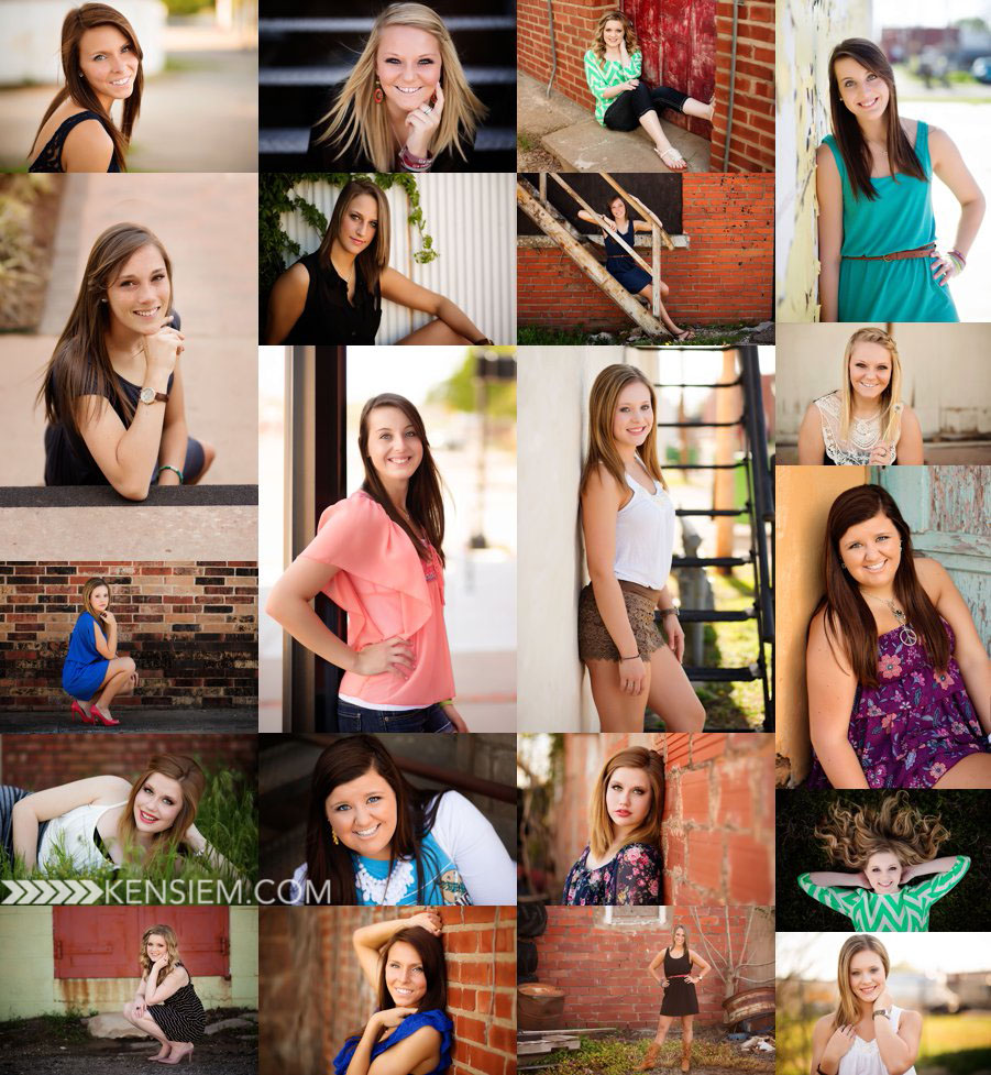 High school senior mini sessions for last minute senior portraits.