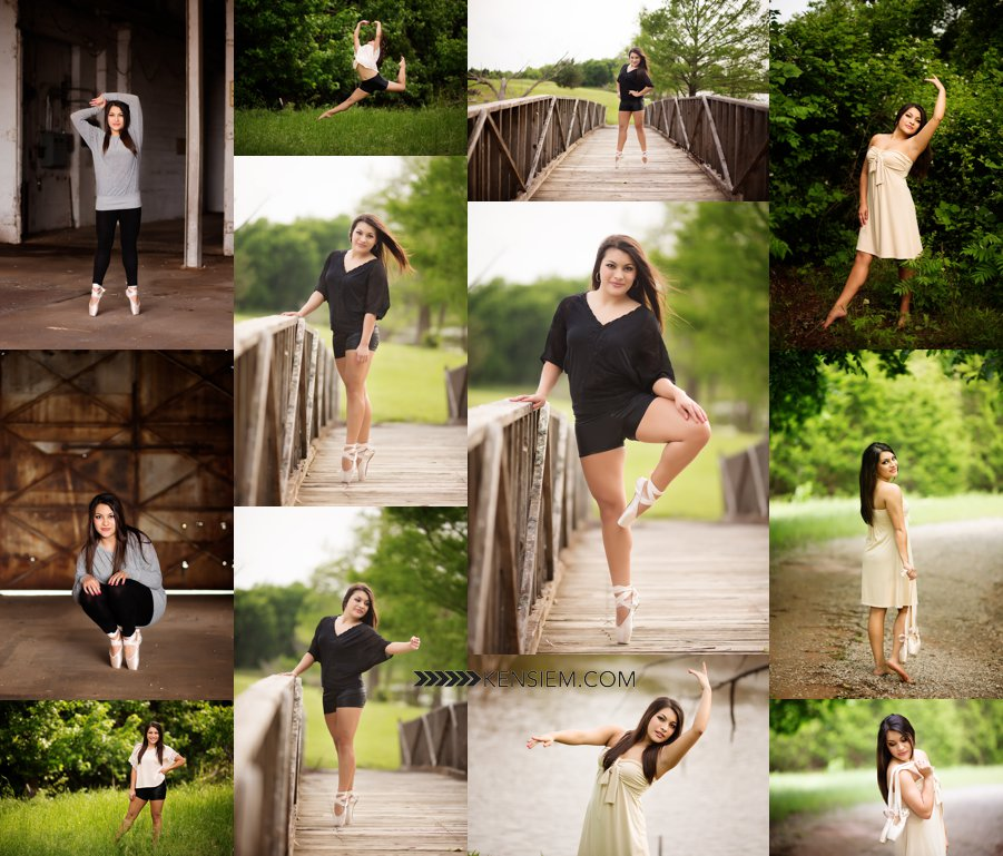 Beautiful senior girl dance photos.