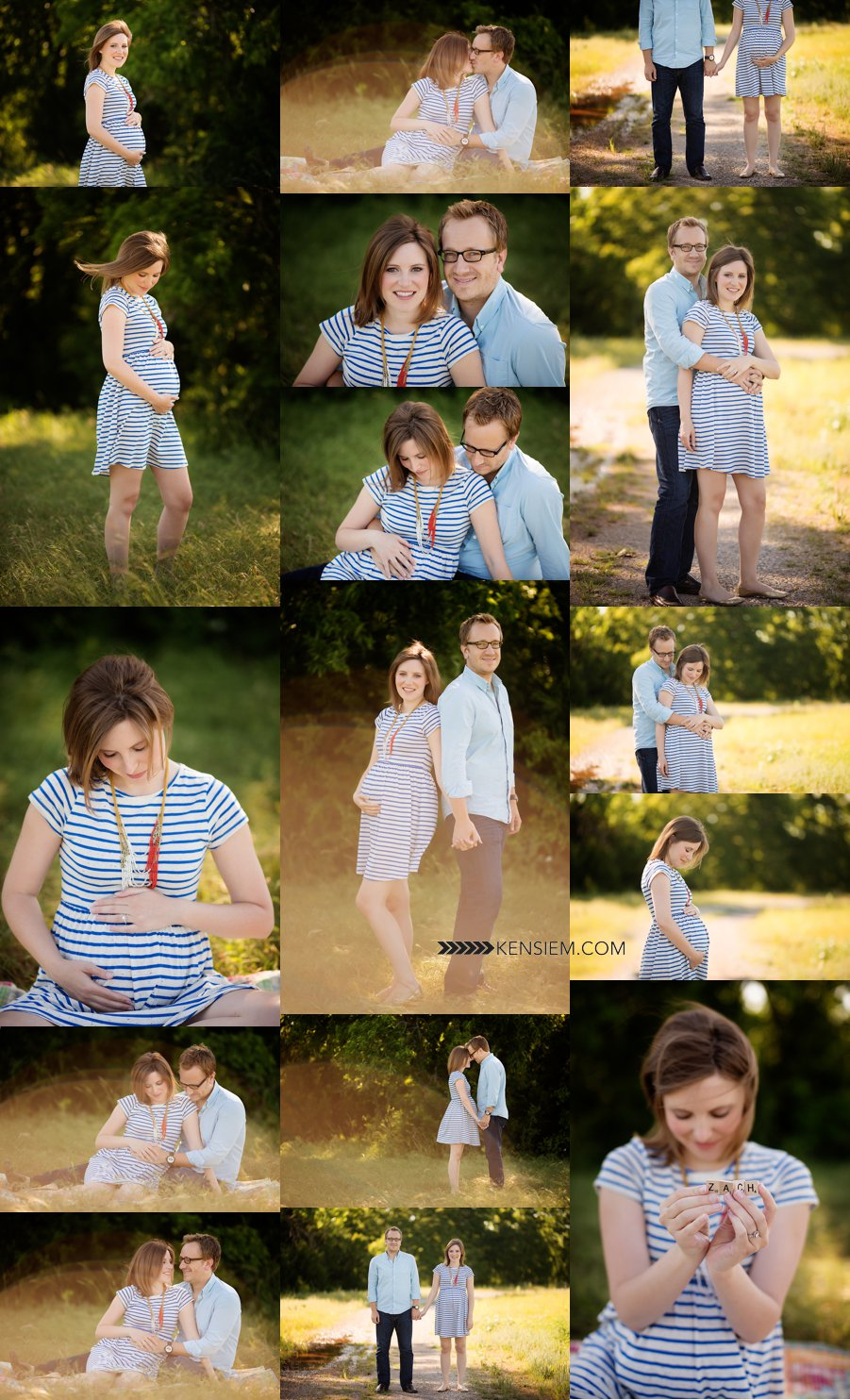 Beautiful maternity outdoor photos.