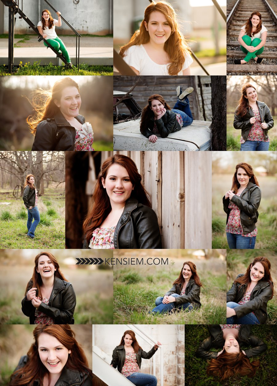 Senior Girl Photography. Senior Girl Poses. Outdoor senior portraits of Class of 2014 girl. www.kensiem.com | Winchester Virginia Photographer