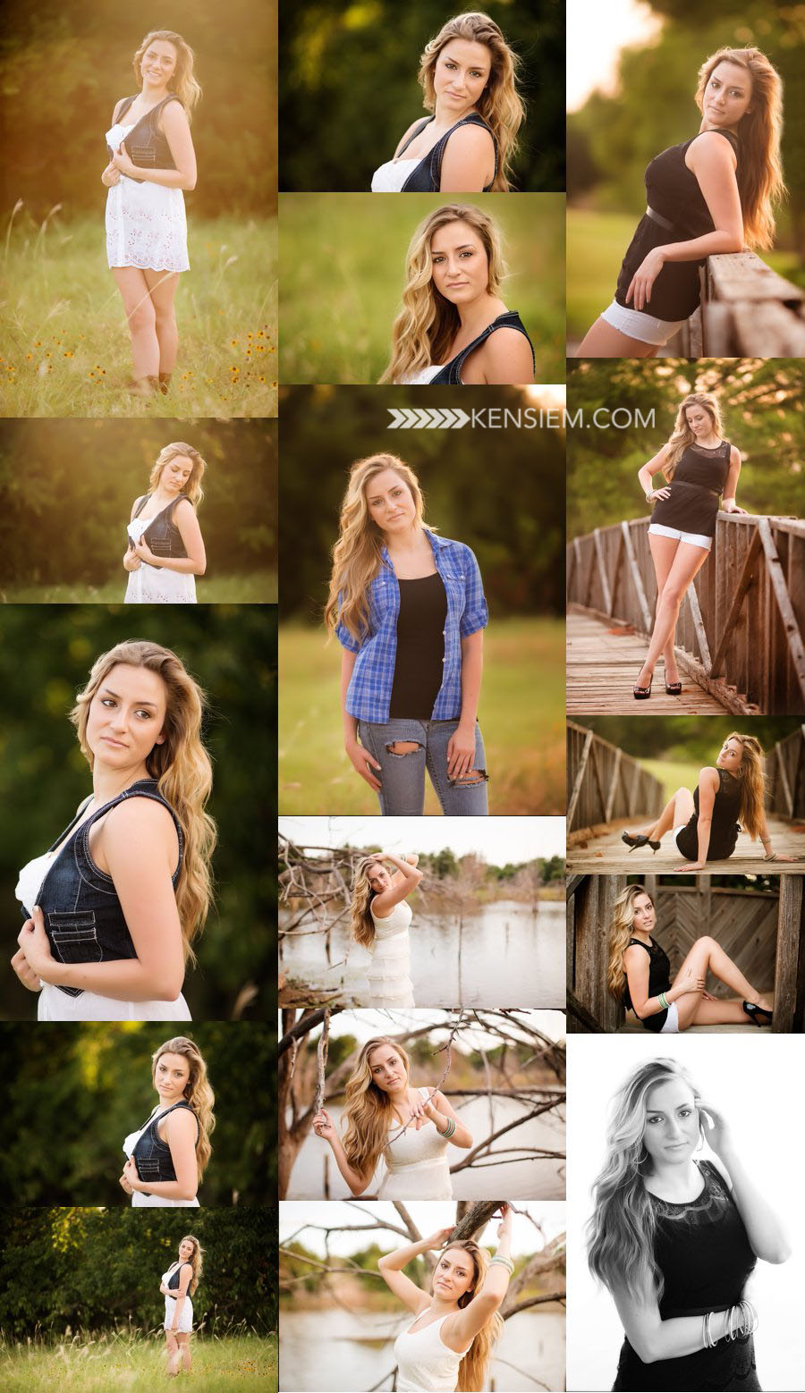 Winchester Virginia Senior Photography. Senior Girl Poses. Outdoor senior portraits of a gorgeous girl. www.kensiem.com | Winchester Virginia Photographer