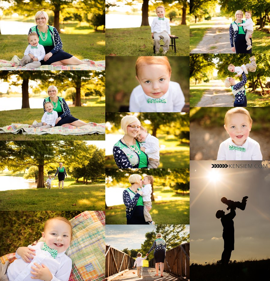 Winchester VA Family Photography. Mother and Son Family Poses. Outdoor family portraits of mother and son. www.kensiem.com | Winchester VA Family Photography