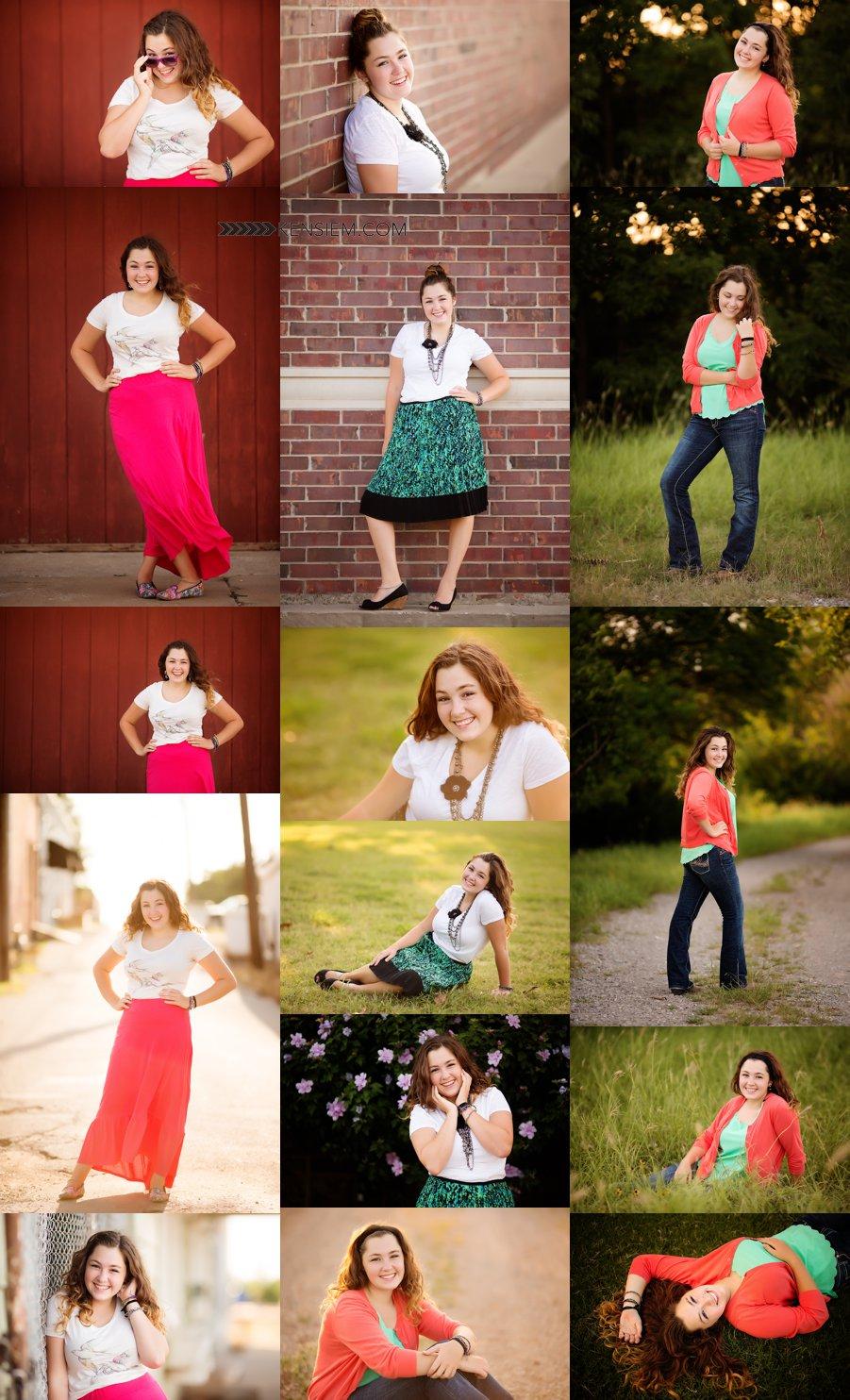 Winchester Virginia Senior Photos. Senior Girl Poses. Outdoor senior portraits of a gorgeous girl. www.kensiem.com | Winchester Virginia Photographer