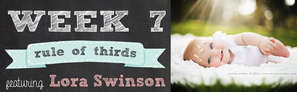 14 Weeks to Beautiful Photos Week 7 Rule of Thirds featuring Lora Swinson