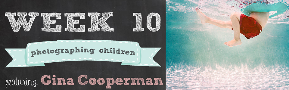 14 Weeks to Beautiful Photos | Week 10 Photographing Children featuring Gina Cooperman | www.kensiem.com