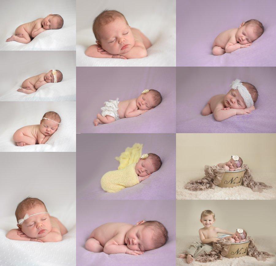 Stephens City Virginia Newborn Photographer. Newborn Girl Poses. www.kensiem.com | Northern Virginia Photographer