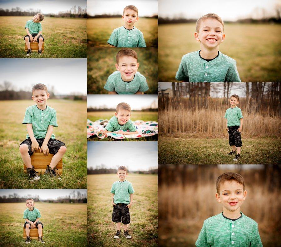 Northern Virginia Children's Photography. Winchester VA Children's Photographer. Boy Poses. Outdoor children's portraits. www.kensiem.com | Northern Virginia Photographer
