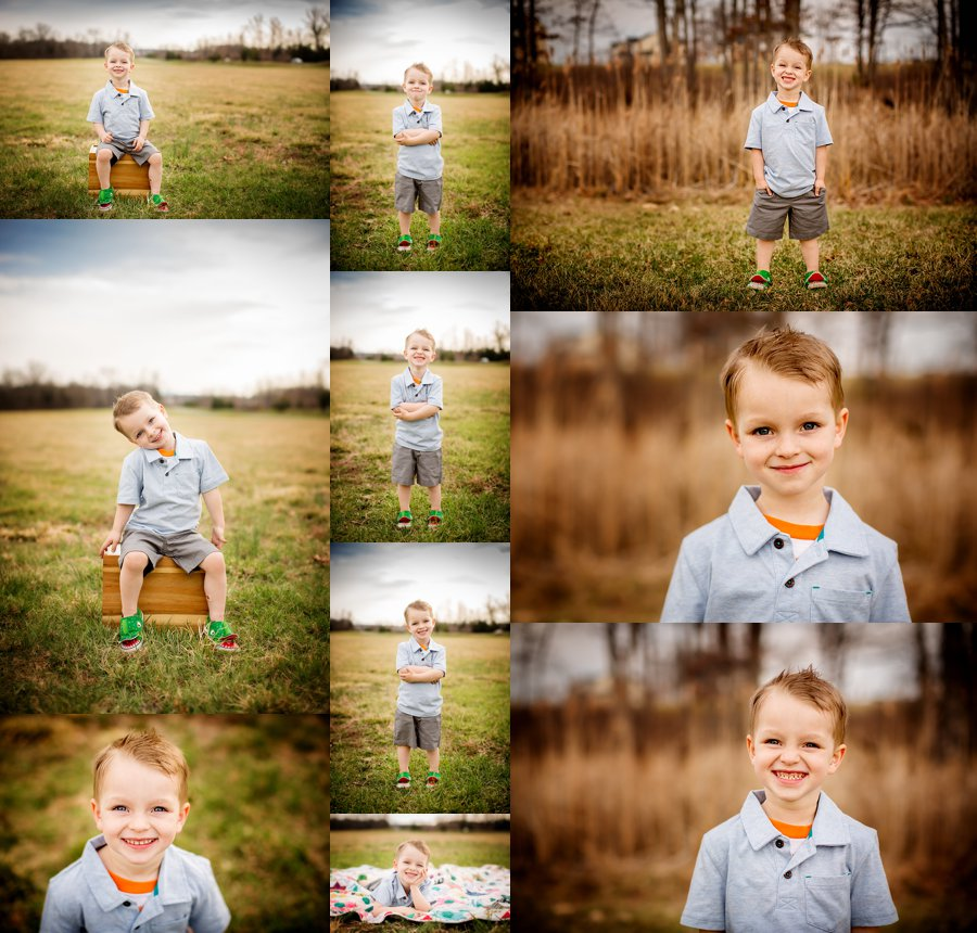 Northern Virginia Children's Photography. Winchester VA Children's Photographer. Boy Poses. Outdoor children's portraits. www.kensiem.com | Northern Virginia Photographer