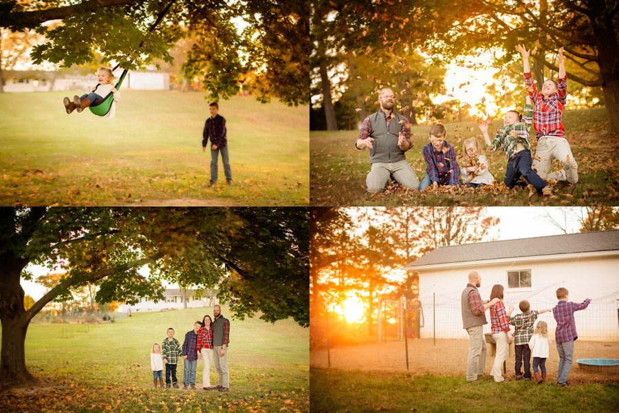 Click to See More! Northern Virginia Lifestyle Family Photography. Winchester VA Family Photographer. Lifestyle Farm Session. Outdoor fall family portraits. www.kensiem.com | Northern Virginia Photographer