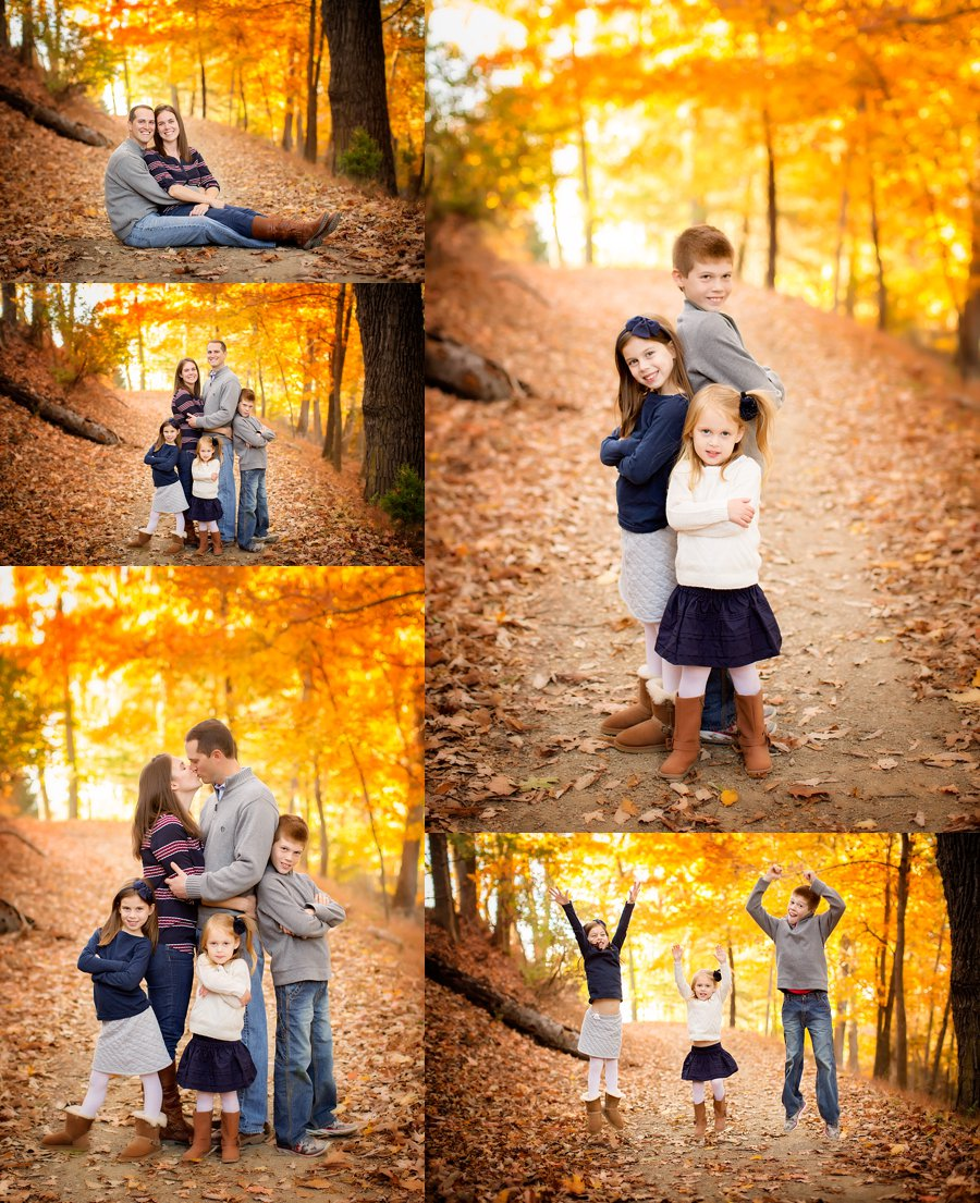 Click to See More! West Virginia Family Photography. Capon Springs WV Extended Family Photographer. Large Family Poses. Outdoor fall extended family portraits. www.kensiem.com | Northern Virginia Photographer
