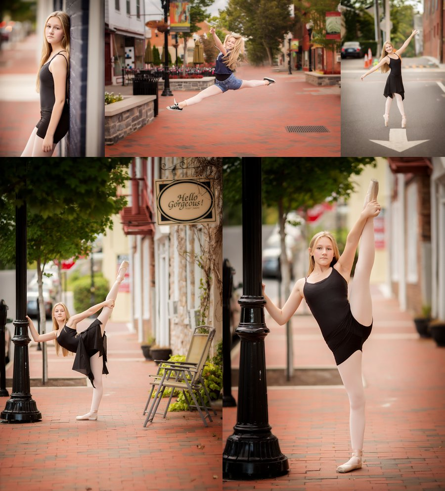 Click to See More! Northern Virginia Dance Photography. Winchester VA Ballet Photographer. Dance and Ballet Poses. Outdoor urban dance portraits. www.kensiem.com | Northern Virginia Photographer