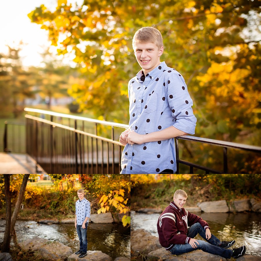 Click to See More! Northern Virginia Senior Photography. Front Royal VA Senior Photographer. Senior Boy Poses. Outdoor fall senior portraits. www.kensiem.com | Northern Virginia Photographer