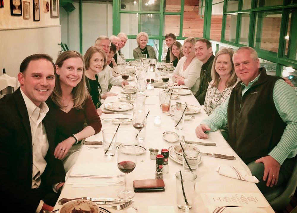 - Gathering Board & Spouses at LIberty Kitchen