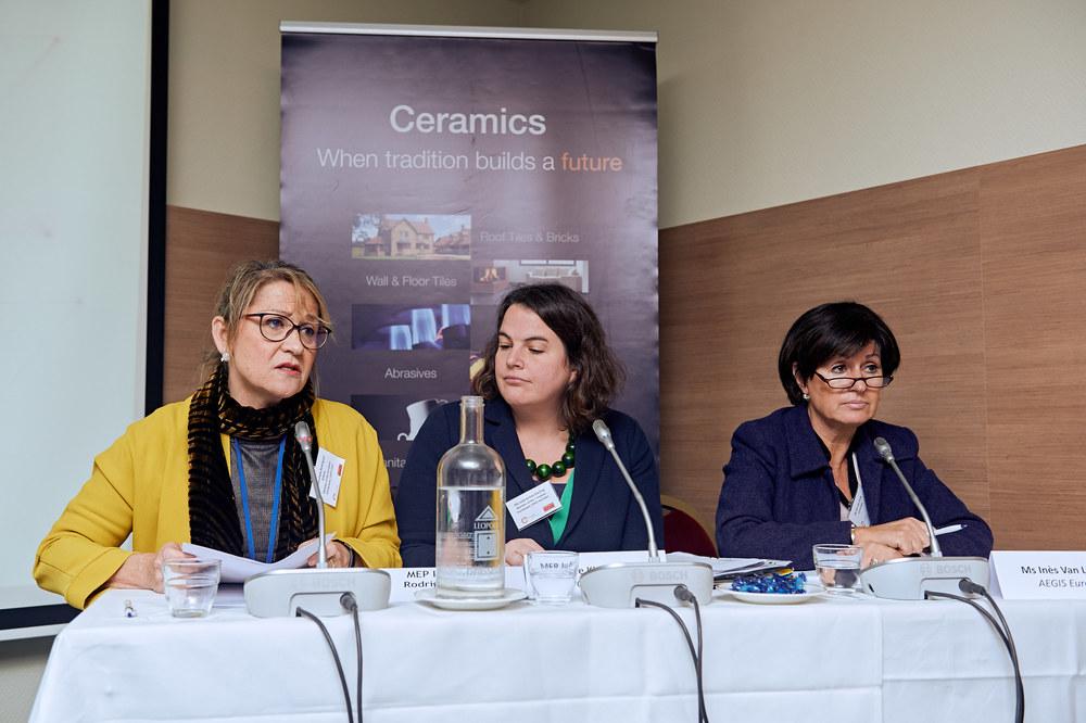 MEP Inmaculada Rodríguez-Piñero,MEP Jude-Kirton Darling and Ines Van Lierde