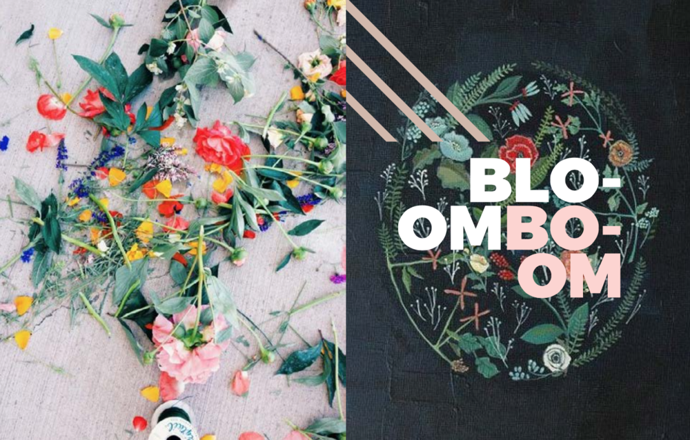 Left: Image from  vsco.it , Right: Flora Print by the very talented   Britt Hermann / Etsy