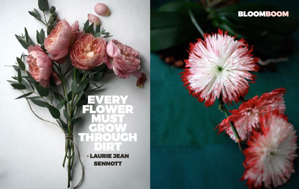 Left: Unknown, Right: from  kvtes.tumblr.com , Right: From a beautiful site  Sinjabloeme Flower Arrangements