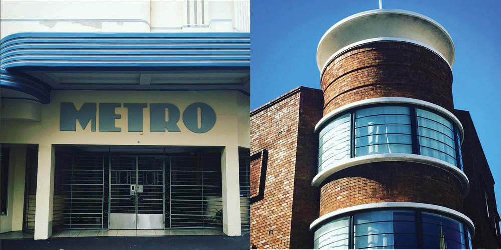 Deco glory, Left: The Metro in Potts Point and The Albury Hotel, Darlinghurst, Photography: Marcus Hay for SMH, Inc