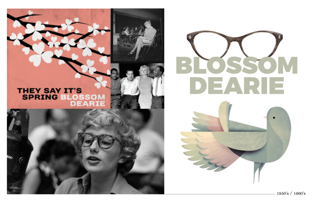 Glasses by Moscot, Bird Illustration by Andrew Lyons for Strong