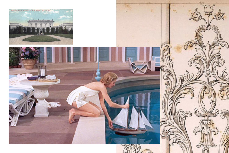 Grace kelly in the famous pool scene