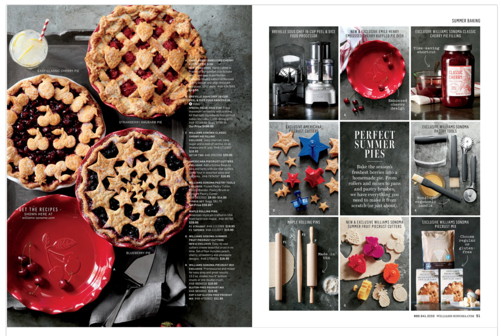 Photography: Romulo Yanes, Art Direction: Marcus Hay for SMH, Inc, Food Styling by George Dolese, Prop Styling: Suzie Meyers