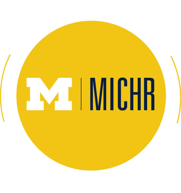 MICHR 10 year anniversary logo