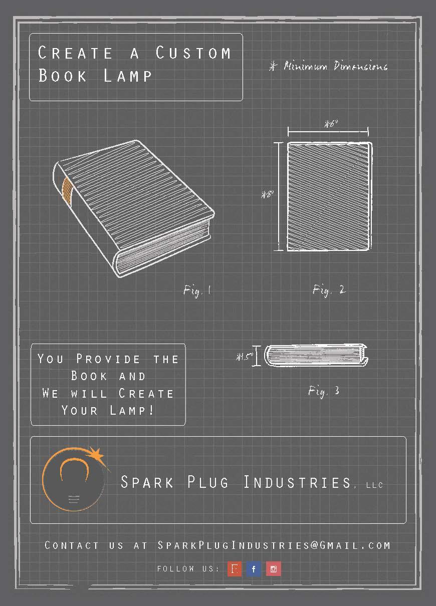 Spark Plug Industries Promo Card