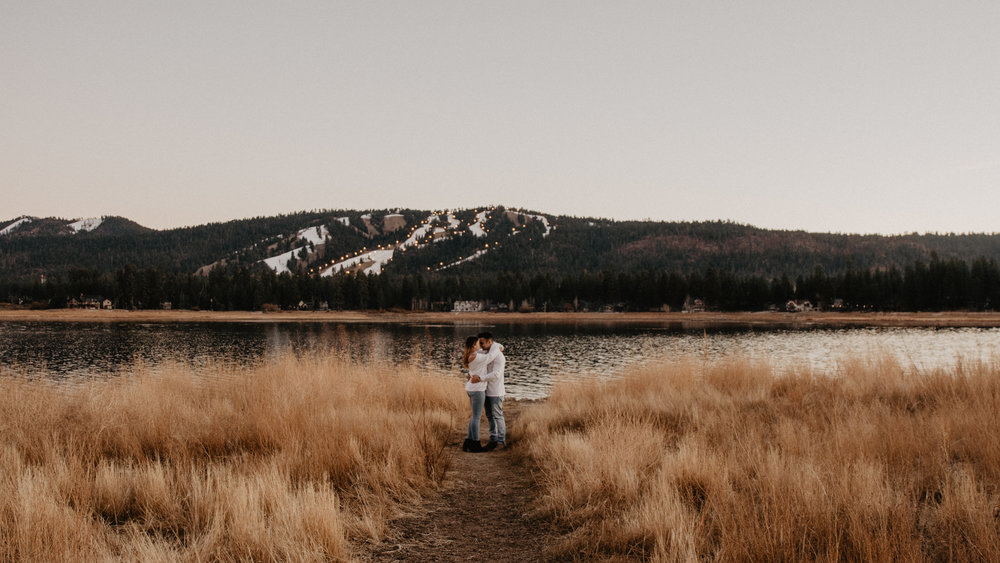 Caitlyn + Sam, Big Bear, CA
