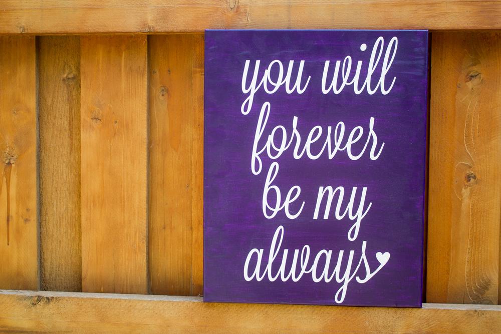 Forever Always | Feita Bonita