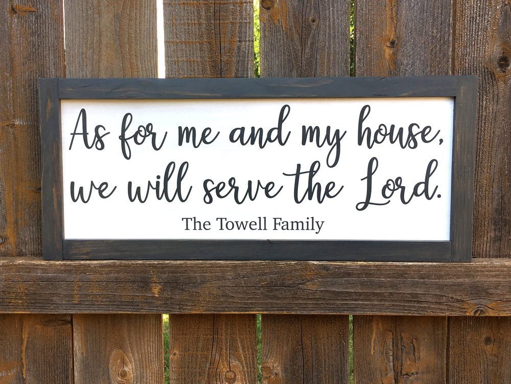 Serve the Lord | FeitaBonita