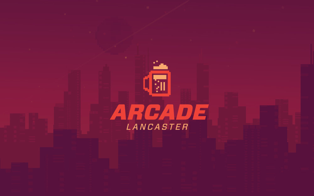 Arcade Lancaster logo and brand background.