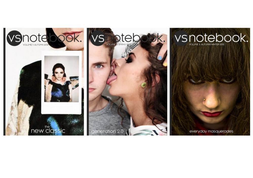 Magazine Covers, 1-3
