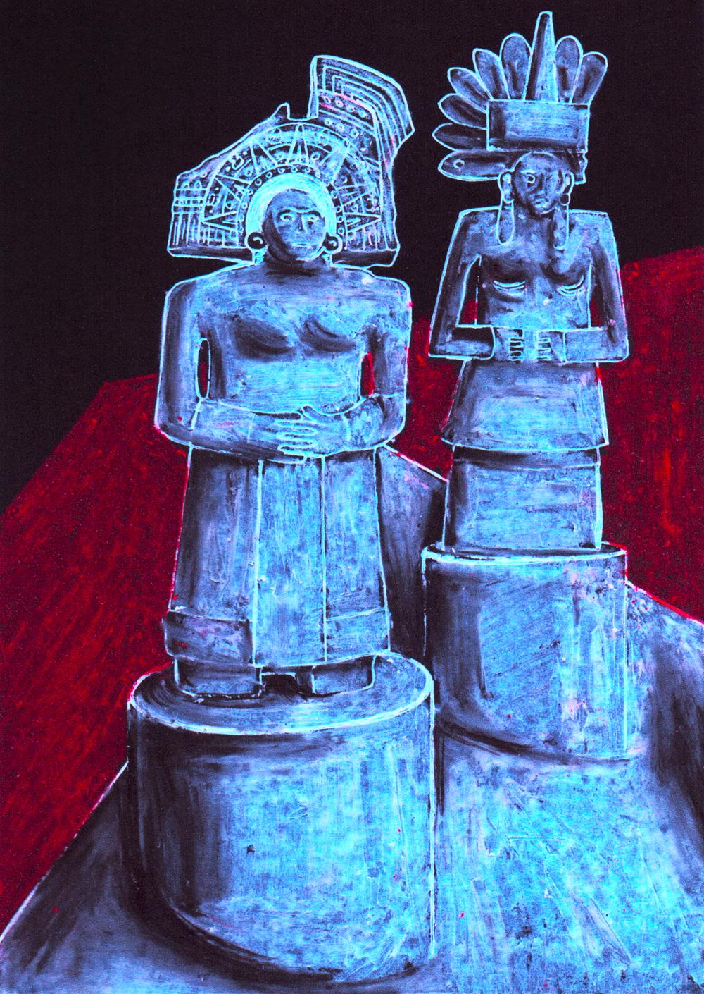Room 27, Mesoamerican Figures
