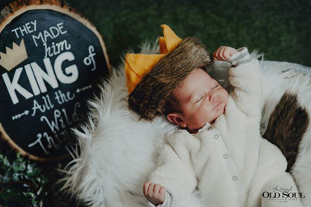 Luke 👑 King of all the Wild Things! . . #newborn #newbornphotography #babyboy #newbornlove #babyphotography #babiesofinstagram #kidsbook #wherethewildthingsare #precious #cute #newbornphoto #newbornbaby #baby #sleepingbaby #venturacounty #newbornphoto #babyphoto
