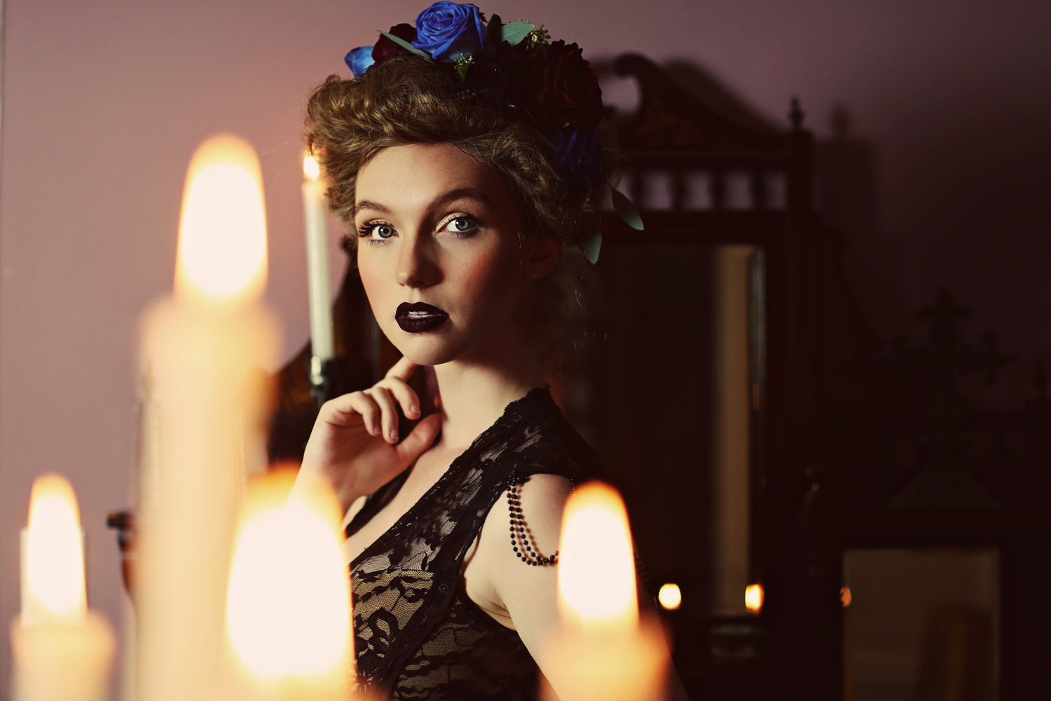 Our Crimson Peak Inspired Victorian Gothic Bridal Shoot Is On Rock N
