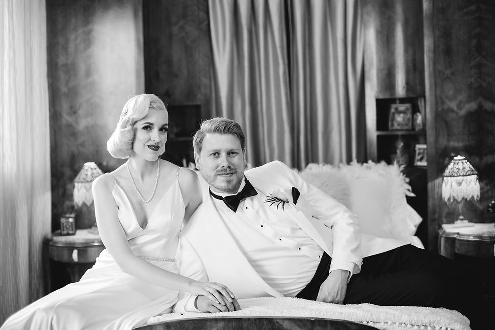 Old Hollywood Oviatt Penthouse Wedding, Art & Soul Events