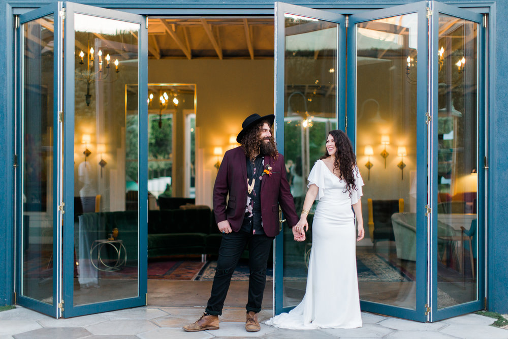 Hip & Stylish Wedding Inspiration at The Fig House, planned by Art & Soul Events