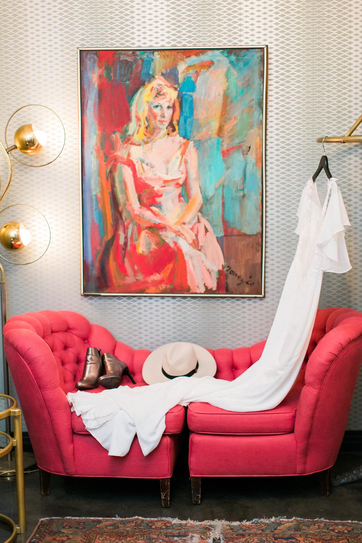 The Fig House Bridal Suite, Bride Boutique LA Wedding dress, Planned by Art & Soul Events