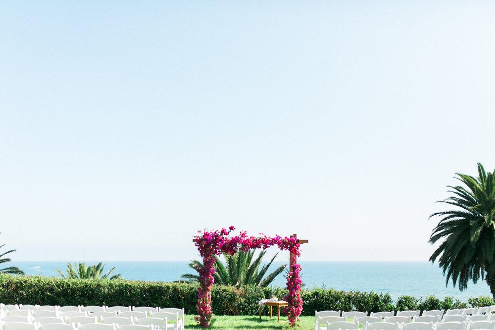 Bel Air Bay Club Bougainvillea Chuppah Jewish Wedding, Art & Soul Events