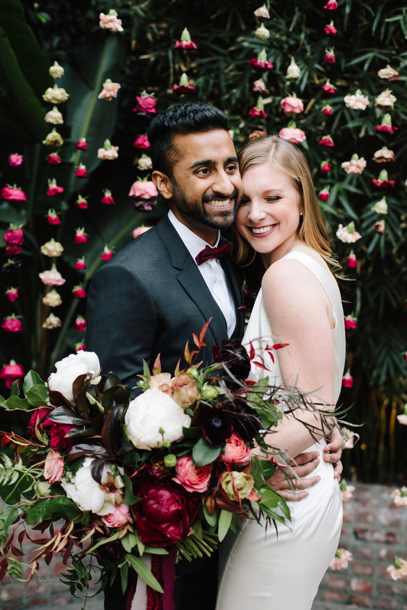 Kristen + Ruchi   //  Photographer:  Heather Kincaid,  Floral Design:  Foxtail Florals