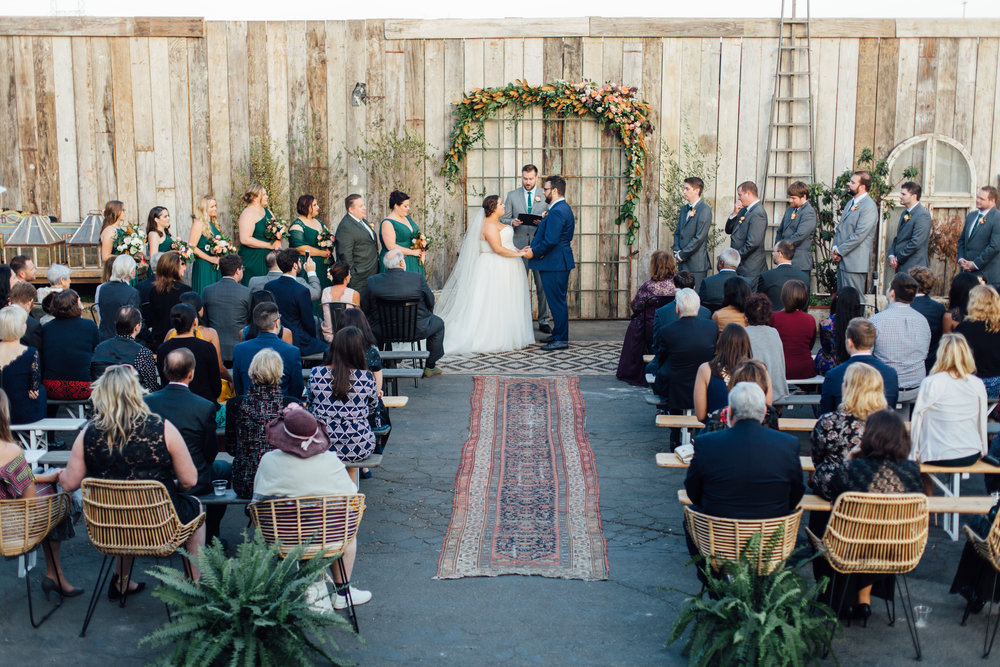 Amy + Andy   //  D. Lillian Photography , Floral Design:  Foxtail Florals