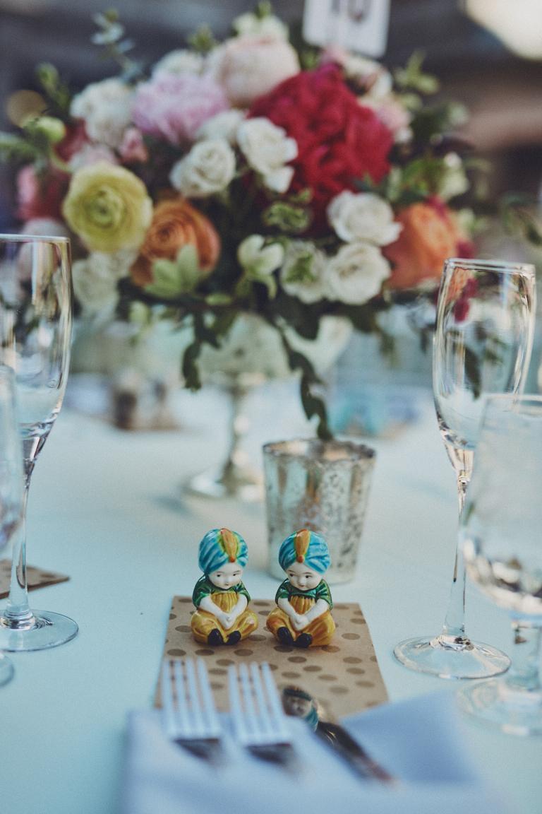 Paige + Scott // Photographer:  Charles Torrealba , Joji Rose Floral Design,CBS Studios,